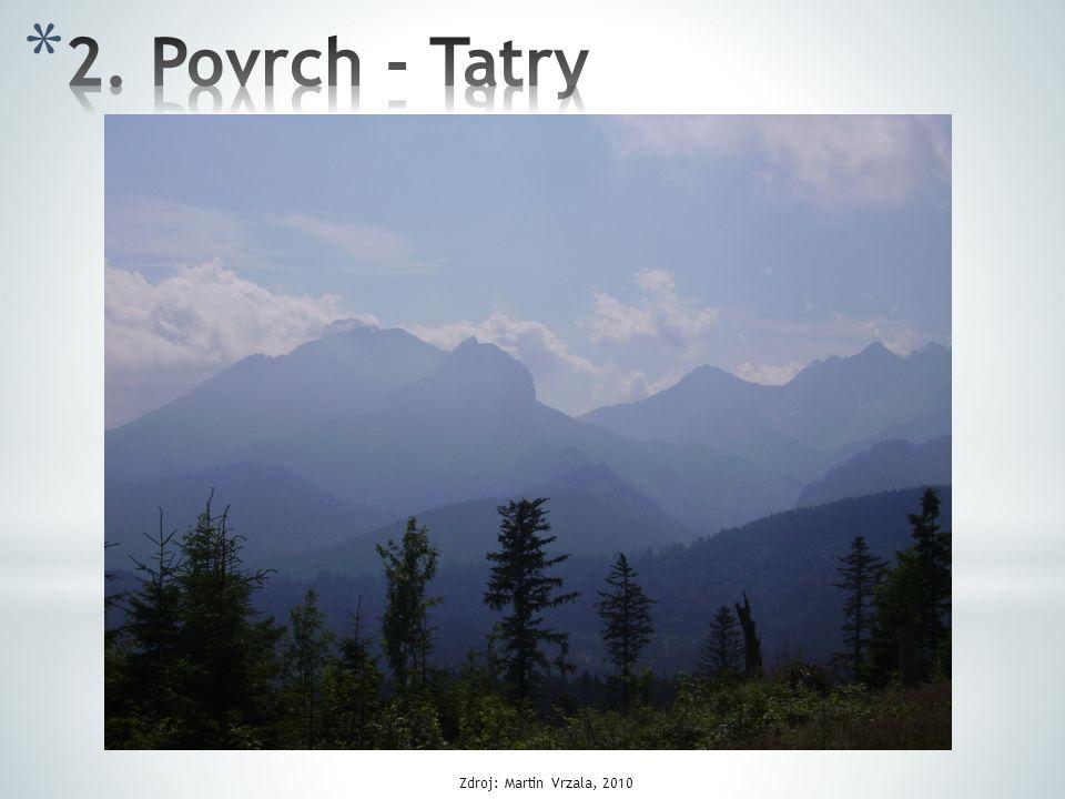 2. Povrch - Tatry Zdroj: Martin Vrzala, 2010