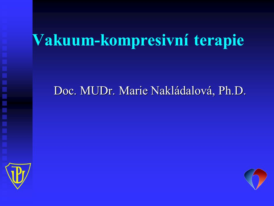 Vakuum-kompresivní terapie