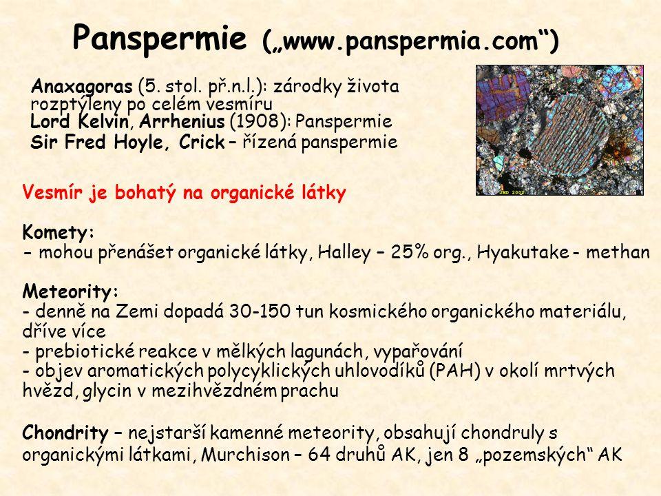 "Panspermie (""www.panspermia.com )"