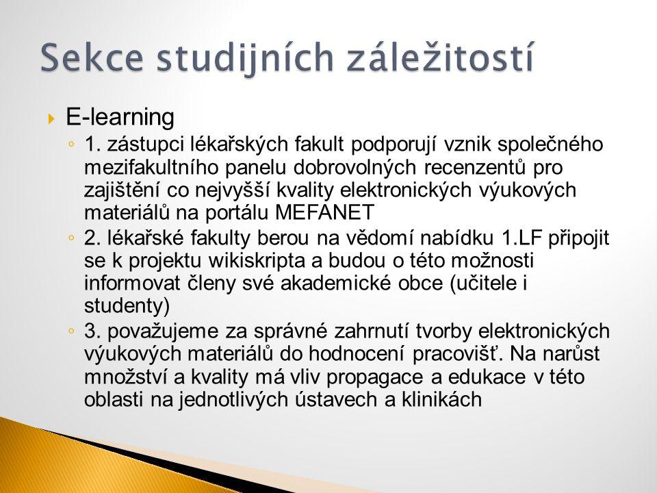 Sekce studijních záležitostí