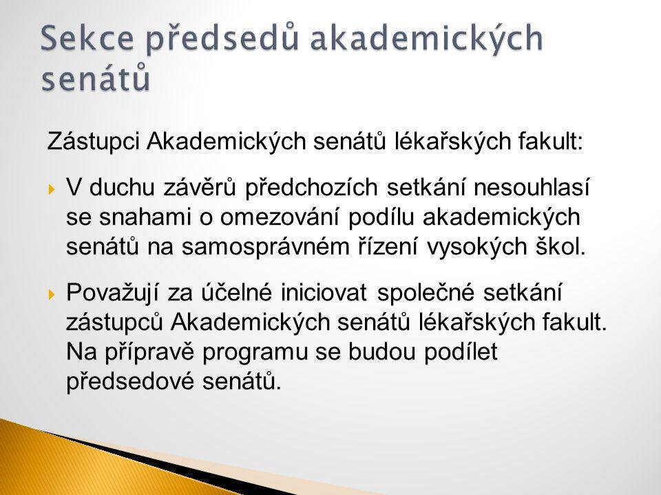 Sekce předsedů akademických senátů