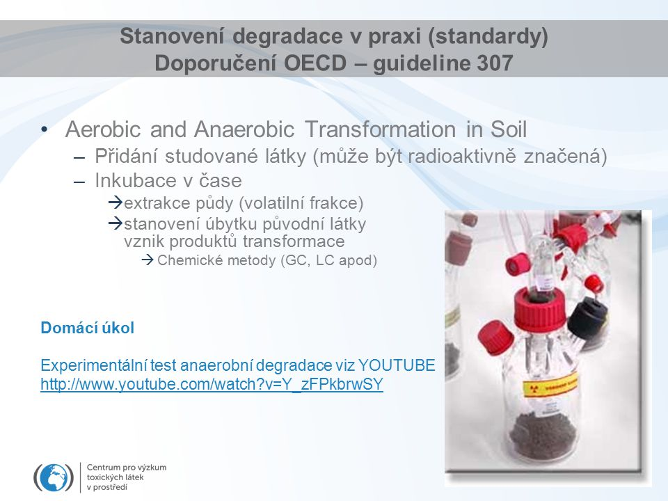 Aerobic and Anaerobic Transformation in Soil