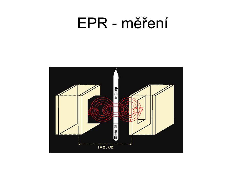 EPR - měření