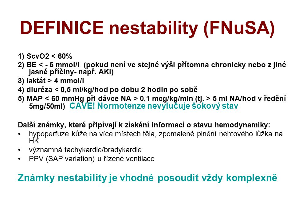 DEFINICE nestability (FNuSA)