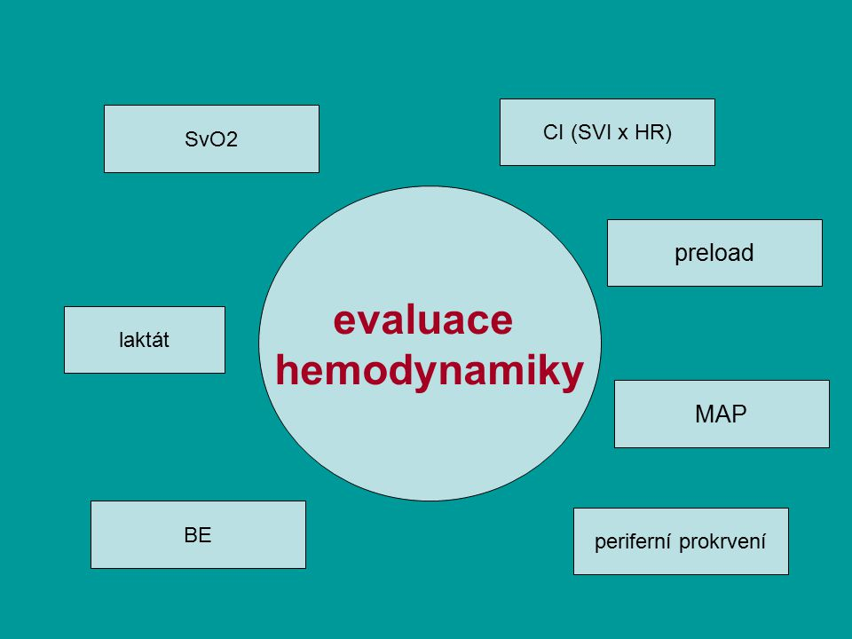 evaluace hemodynamiky
