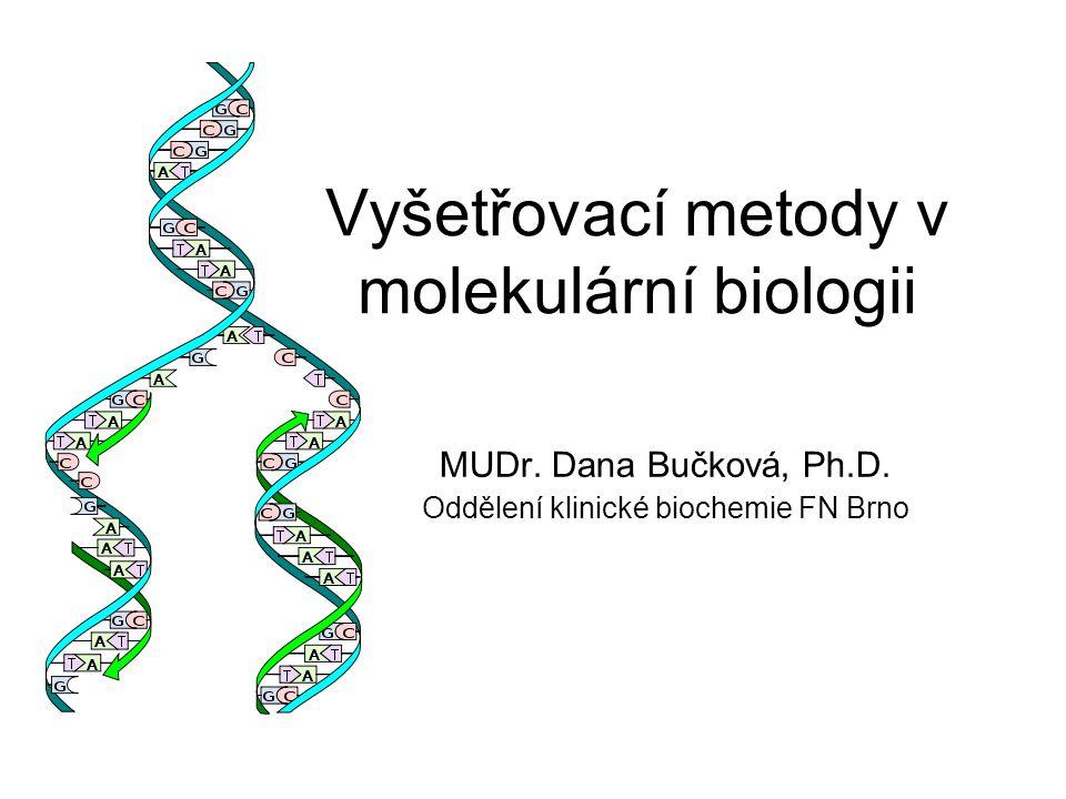 Vyšetřovací metody v molekulární biologii