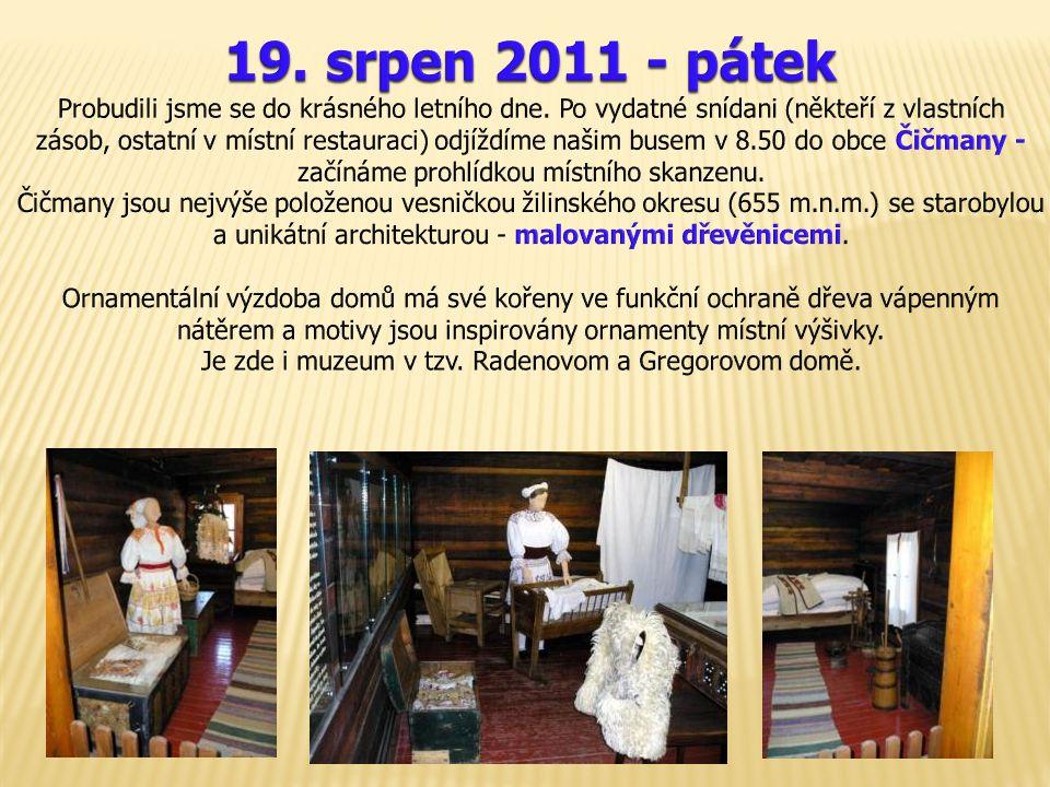 Je zde i muzeum v tzv. Radenovom a Gregorovom domě.