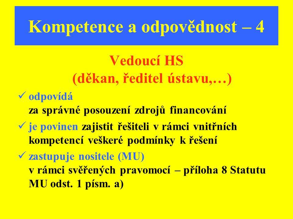 Kompetence a odpovědnost – 4