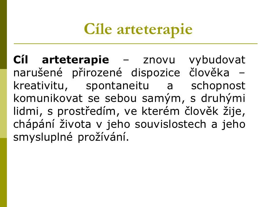Cíle arteterapie