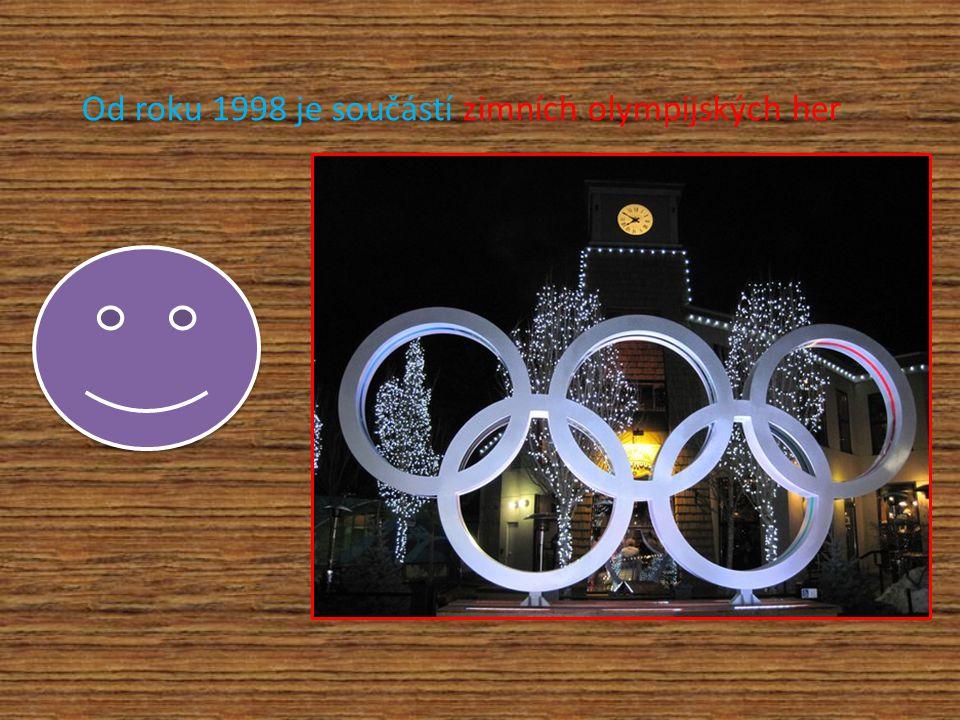 Od roku 1998 je součástí zimních olympijských her