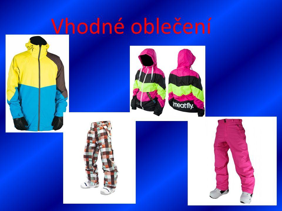 Vhodné oblečení