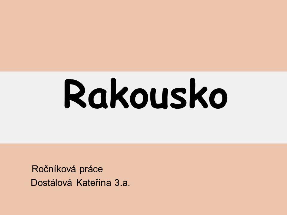 Ročníková práce Dostálová Kateřina 3.a.