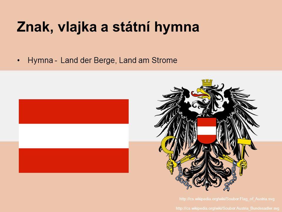 Znak, vlajka a státní hymna