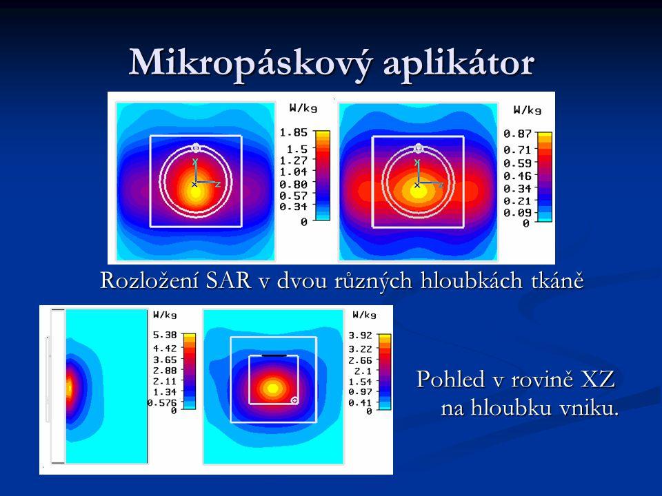 Mikropáskový aplikátor
