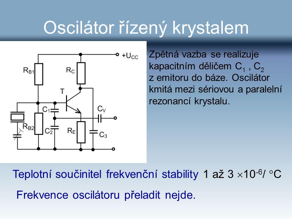 Oscilátor řízený krystalem