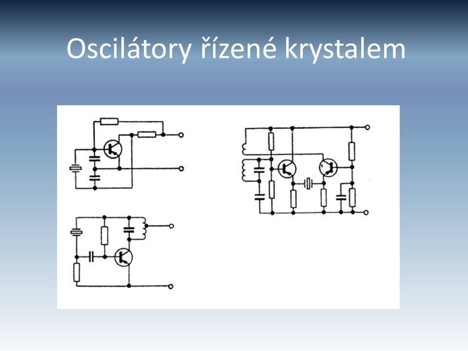 Oscilátory řízené krystalem