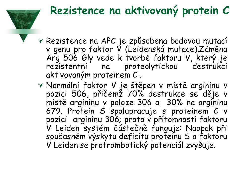Rezistence na aktivovaný protein C