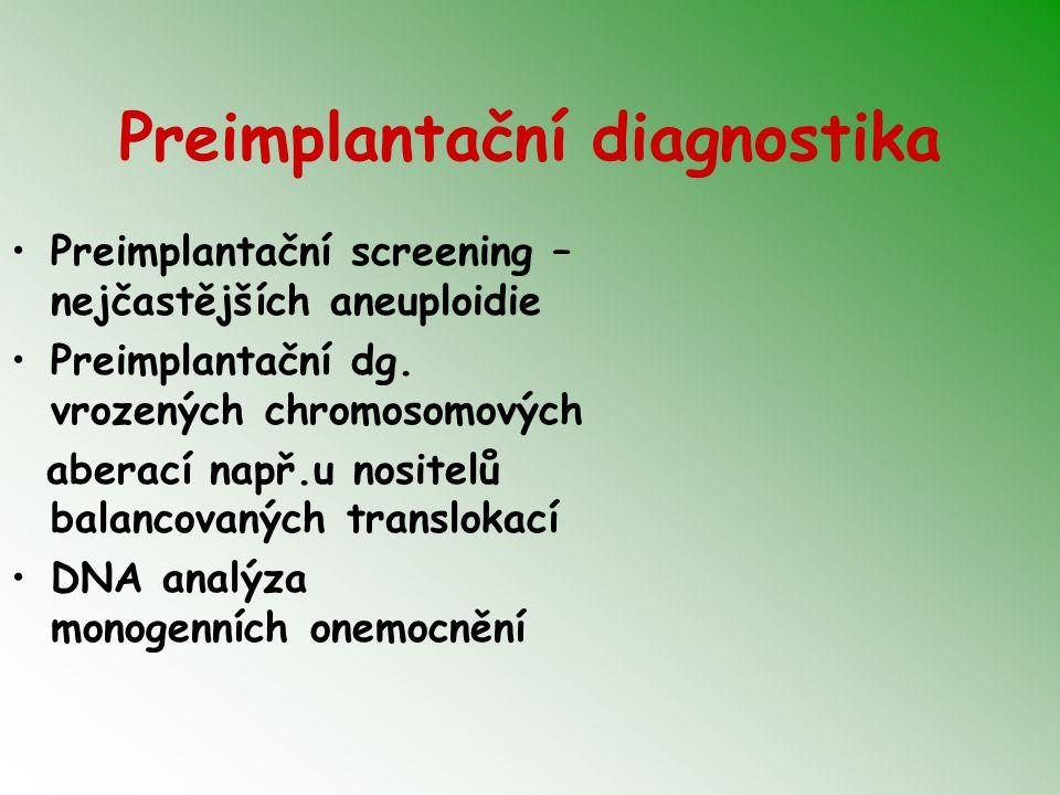 Preimplantační diagnostika