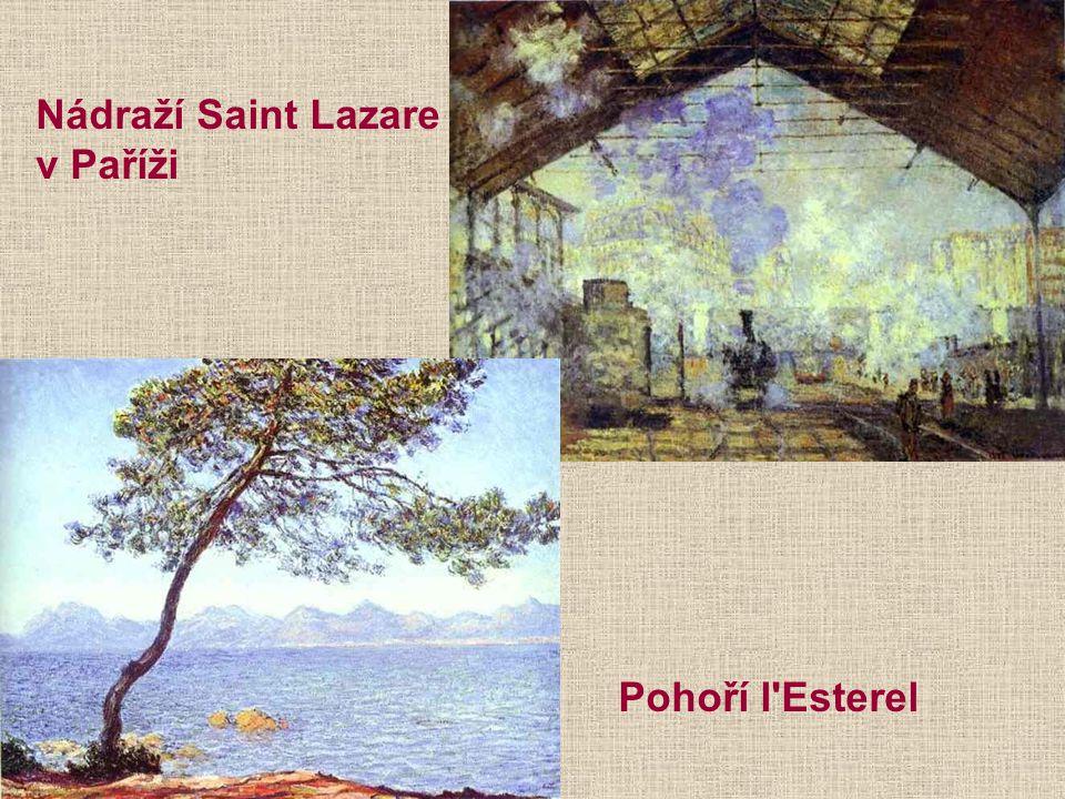 Nádraží Saint Lazare v Paříži