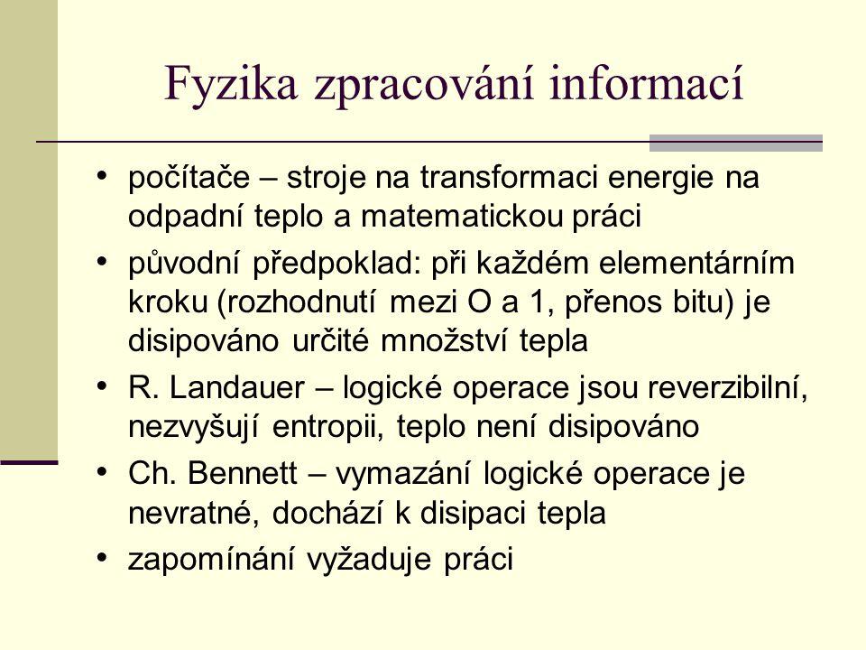 Fyzika zpracování informací