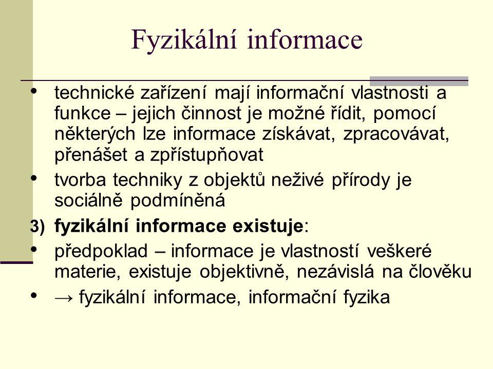 Fyzikální informace