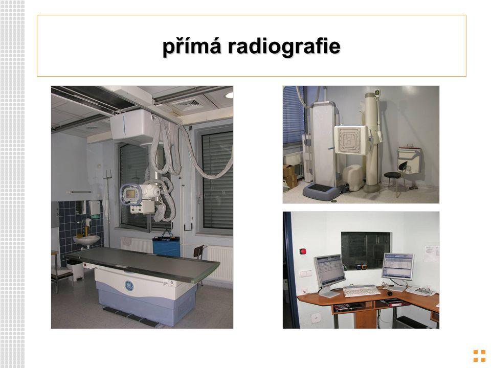 přímá radiografie