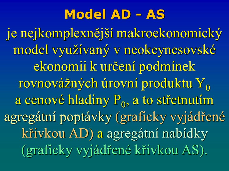 Model AD - AS