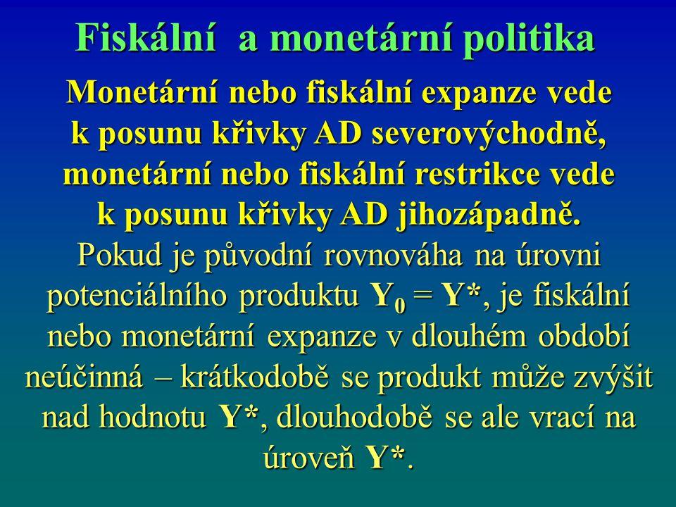 Fiskální a monetární politika