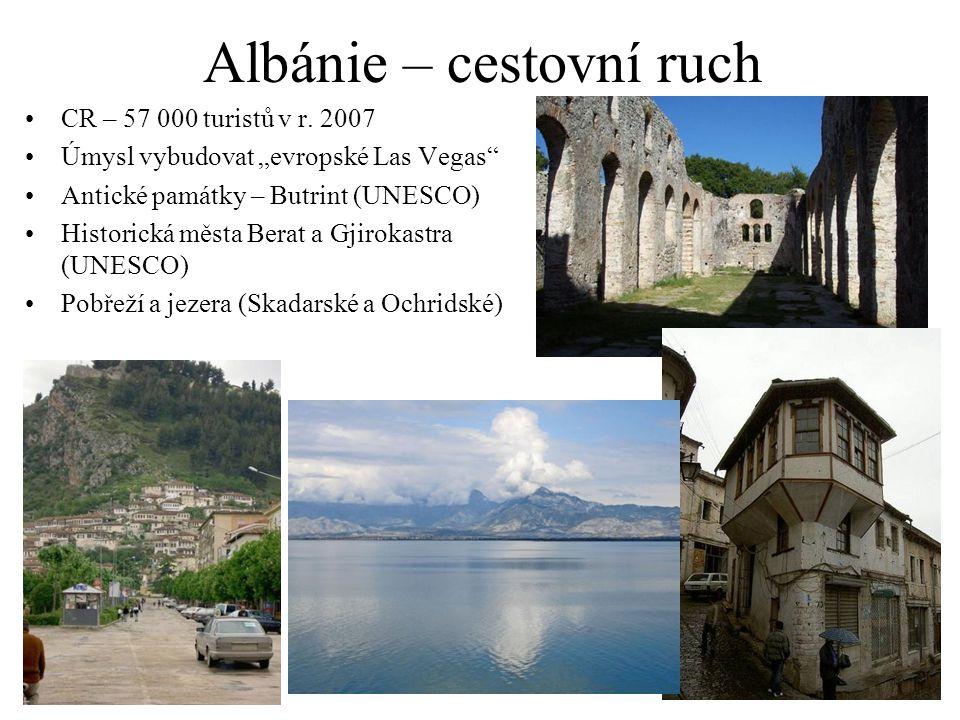 Albánie – cestovní ruch