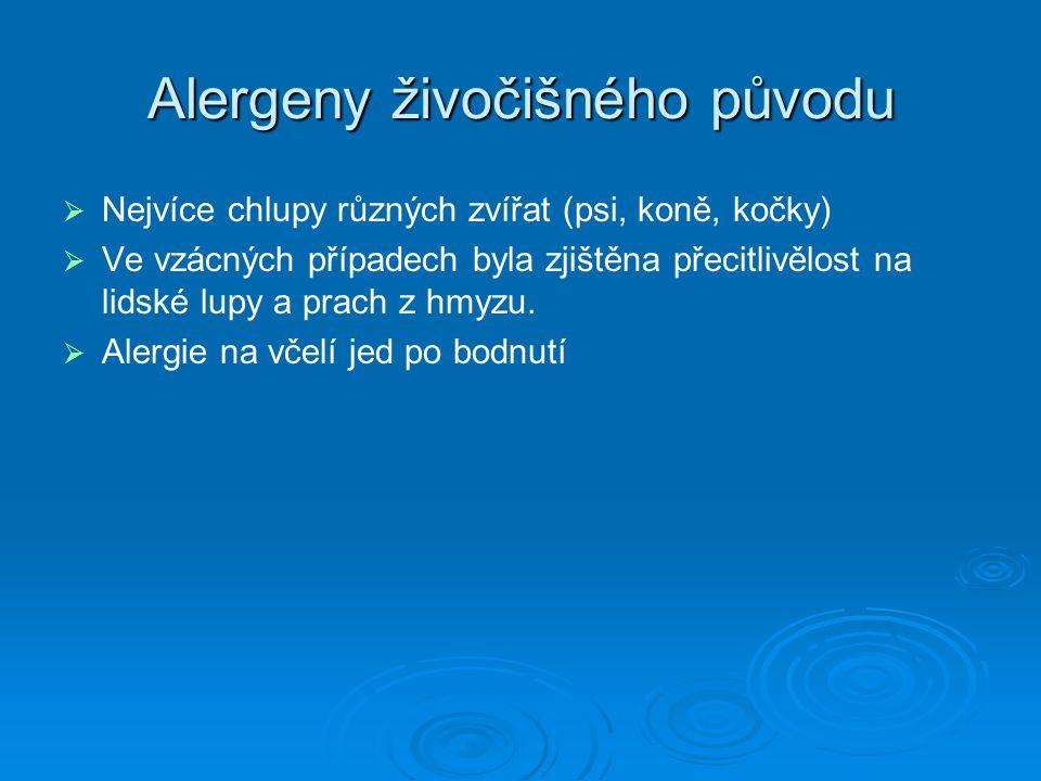 Alergeny živočišného původu