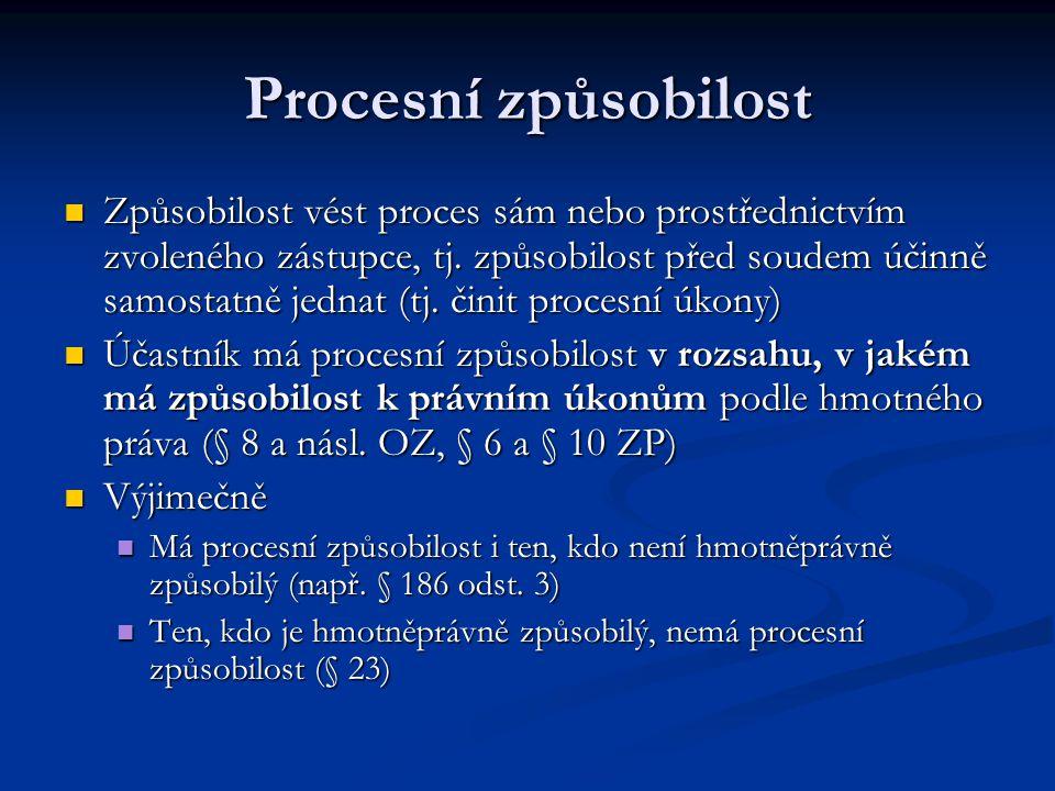 Procesní způsobilost