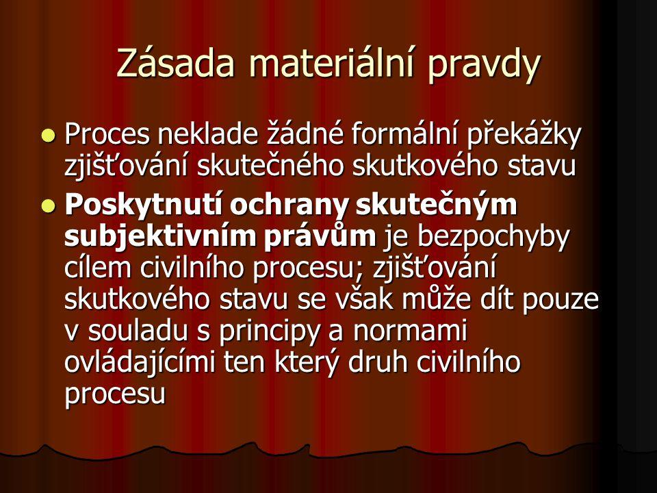 Zásada materiální pravdy