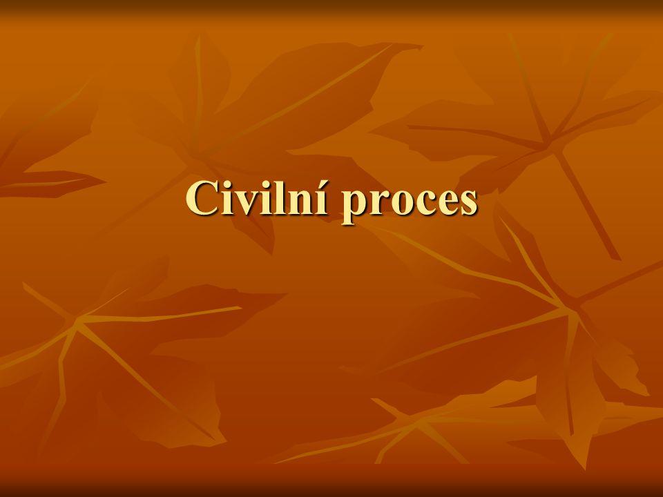 Civilní proces