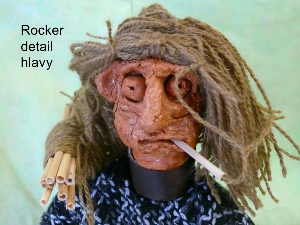 Rocker detail hlavy