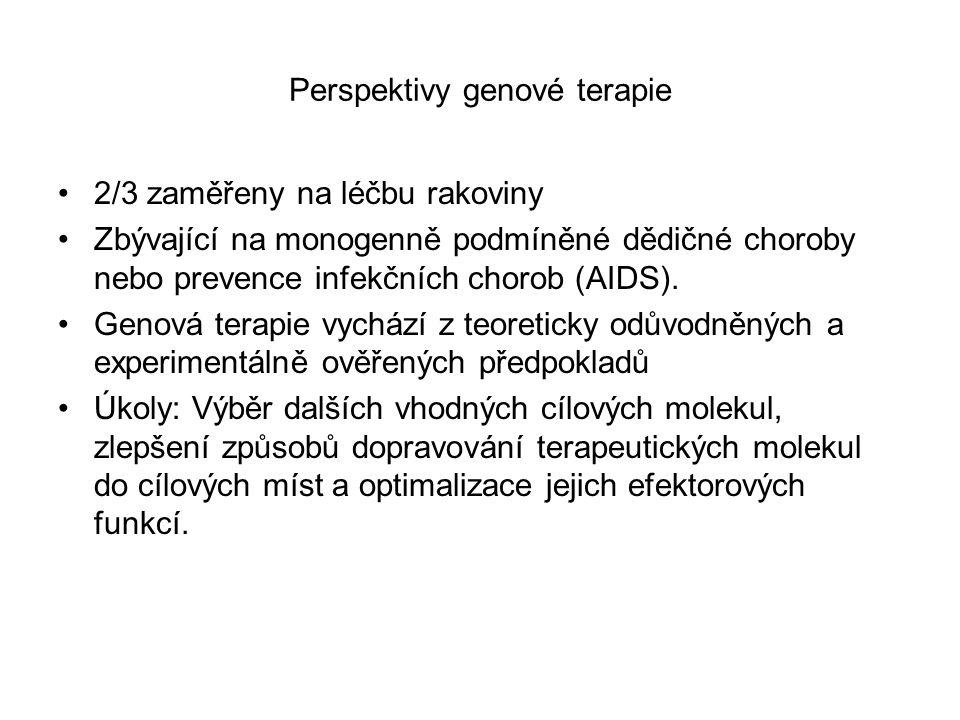 Perspektivy genové terapie