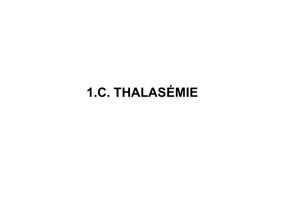 1.C. THALASÉMIE