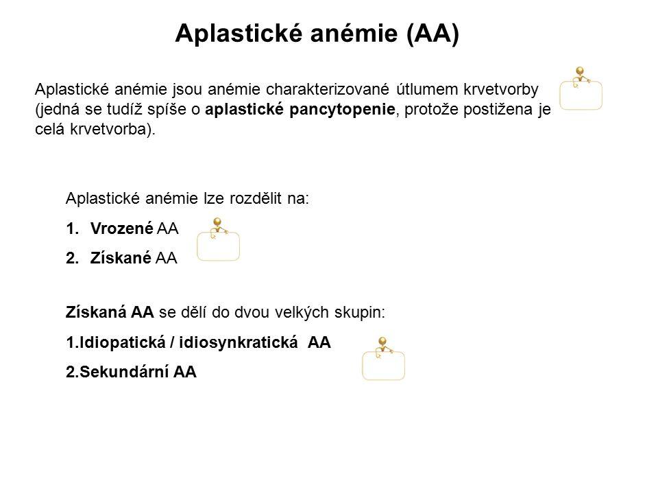 Aplastické anémie (AA)