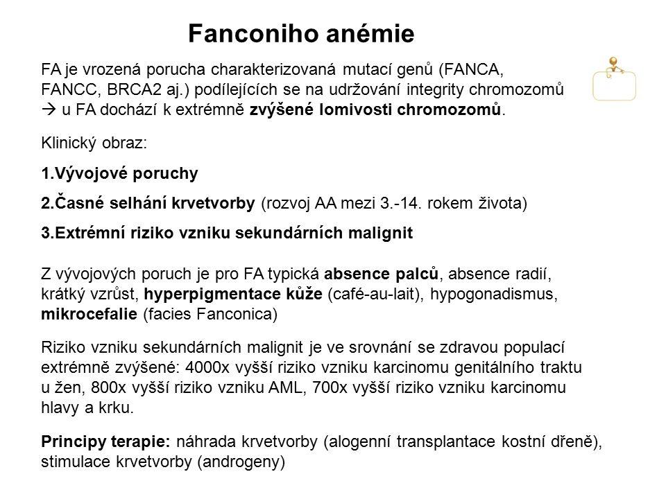 Fanconiho anémie