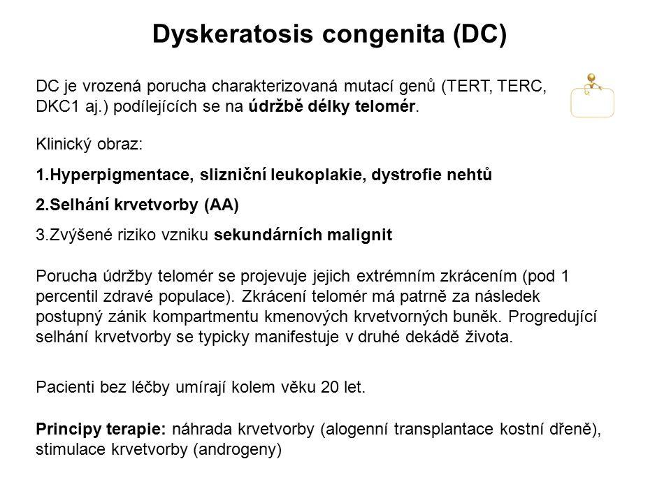 Dyskeratosis congenita (DC)