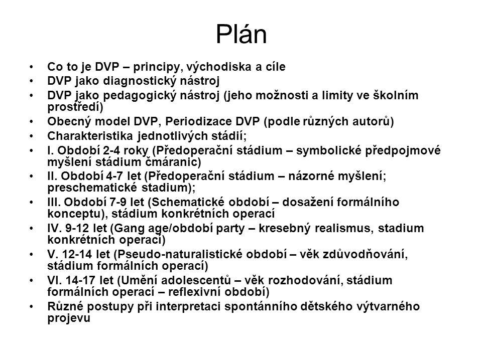Plán Co to je DVP – principy, východiska a cíle