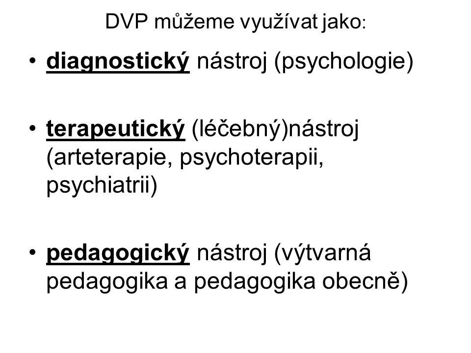 DVP můžeme využívat jako: