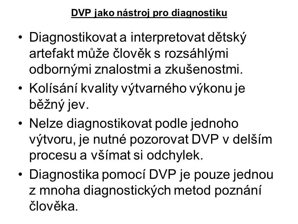 DVP jako nástroj pro diagnostiku