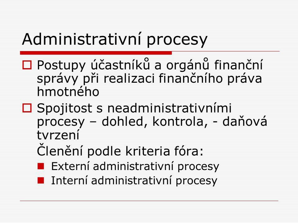 Administrativní procesy