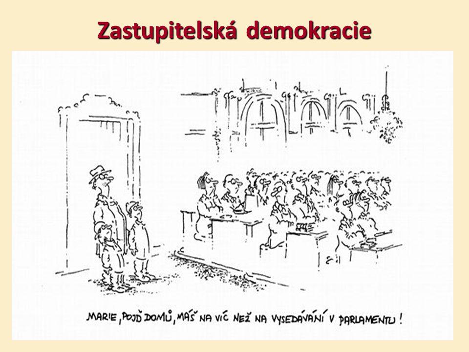 Zastupitelská demokracie