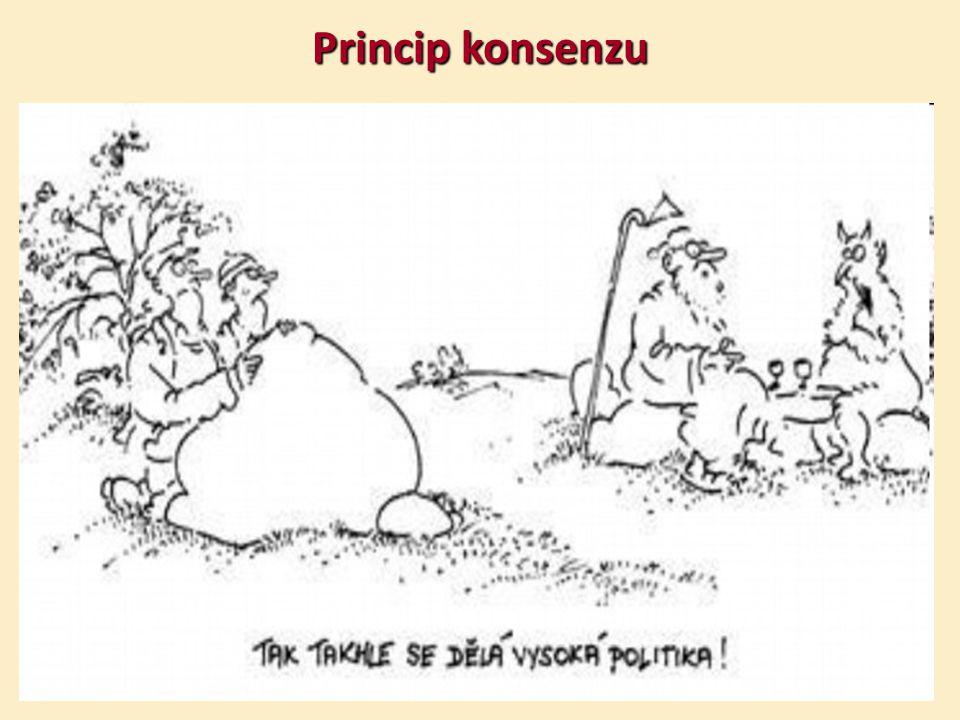 Princip konsenzu Vladimír Renčín, Právo