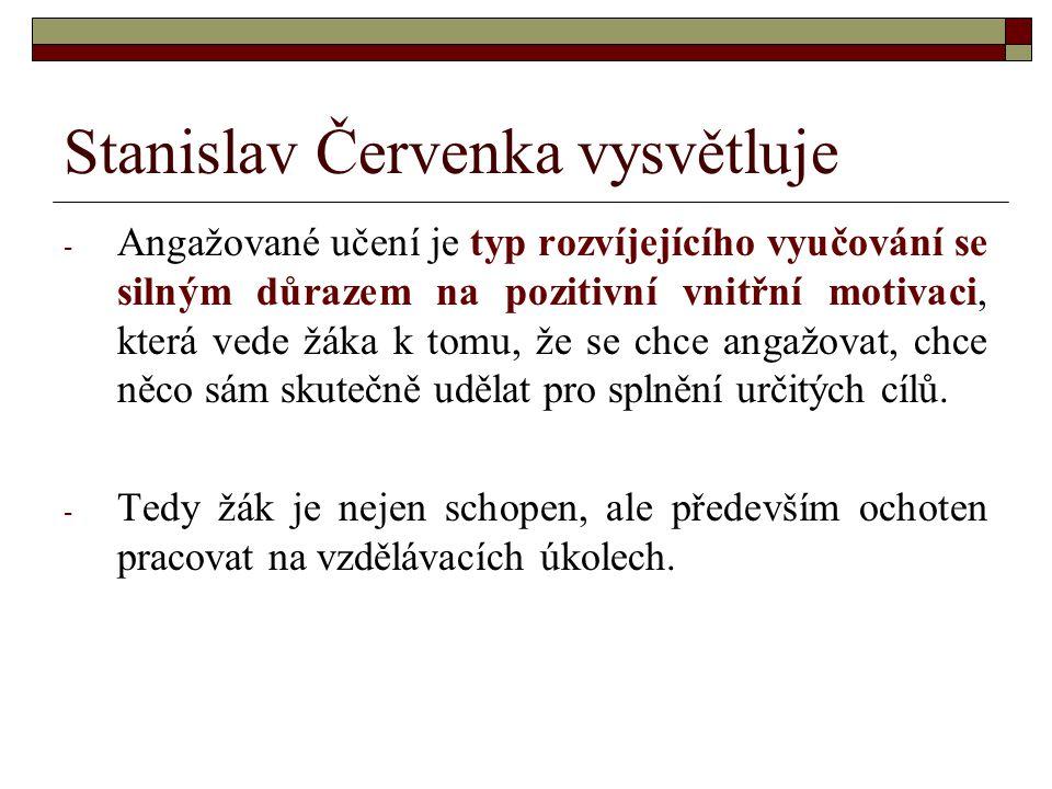 Stanislav Červenka vysvětluje
