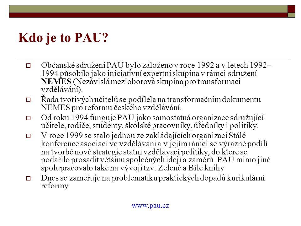 Kdo je to PAU