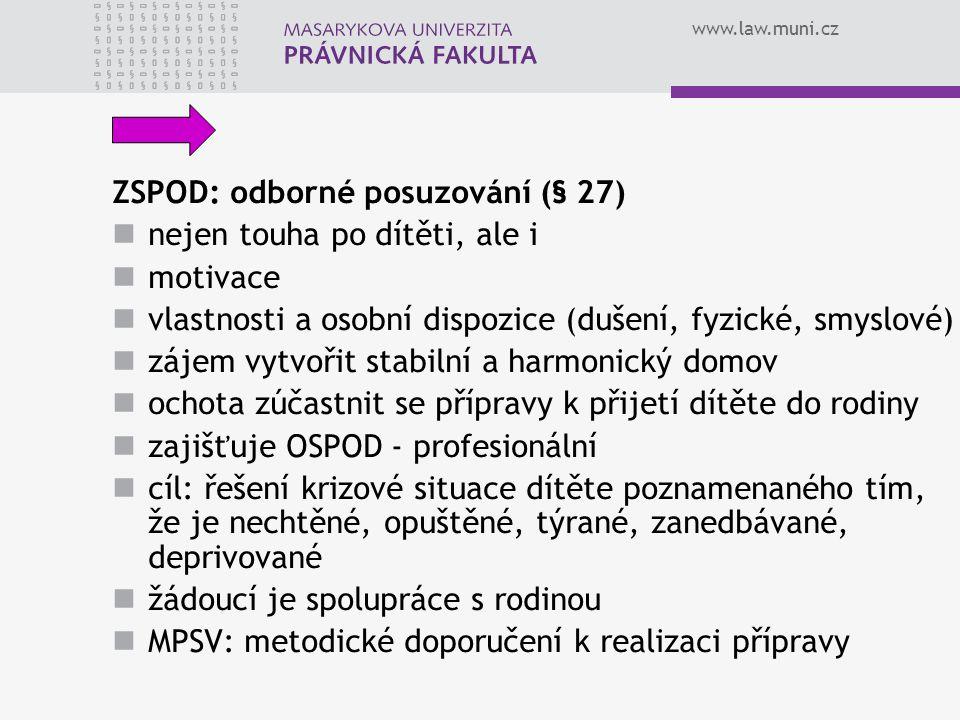 ZSPOD: odborné posuzování (§ 27)