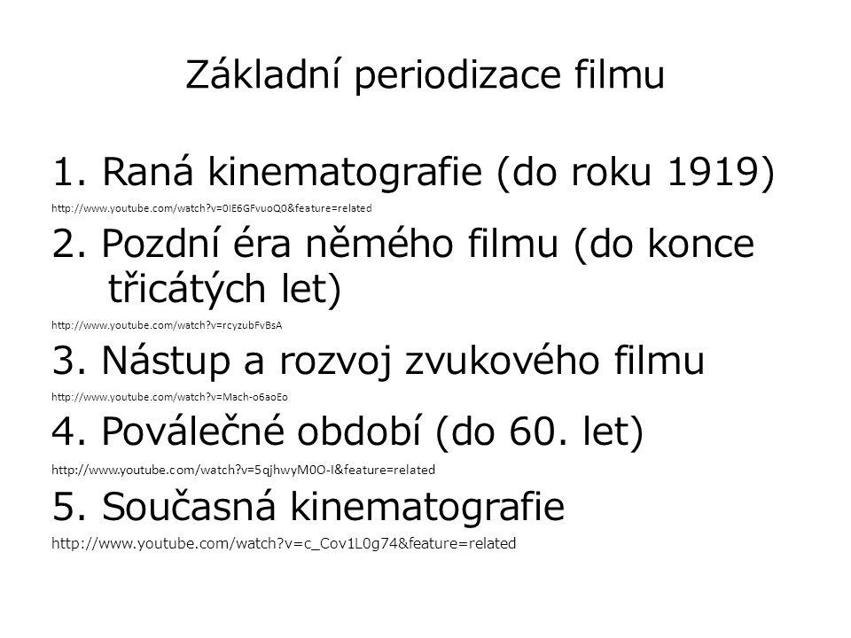 Základní periodizace filmu