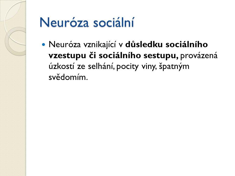 Neuróza sociální